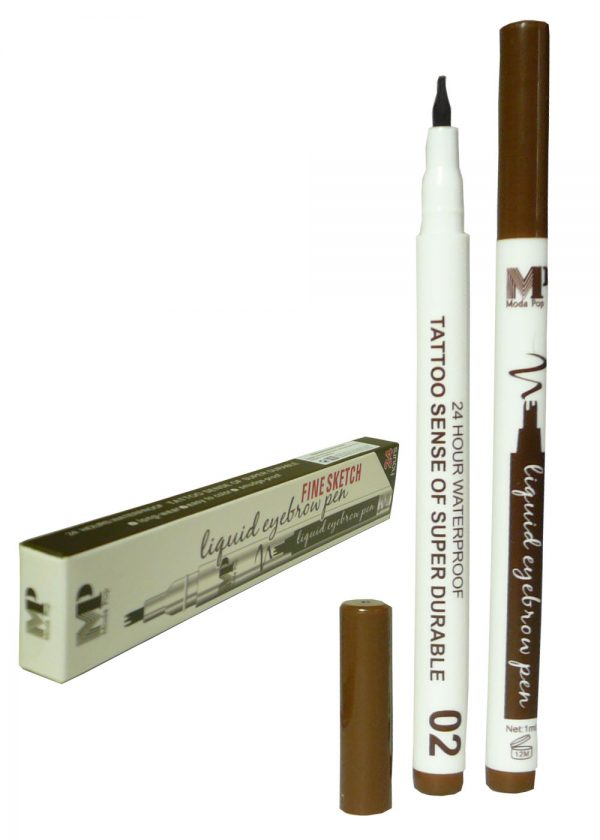 Подводка -фломастер (вилка) Moda Pop Fine Sketch. (коричневый)